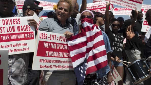 rideshare drivers united are calling a 25 hours strike in